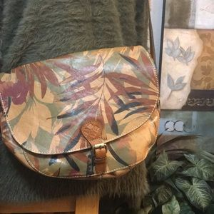 NWTS Patricia Nash Vintage Design Palm Leaves Rare